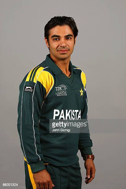 Salman Butt of Pakistan poses for a portrait prior to the ICC World Twenty20 at Royal Garden on June 4 2009 in London England