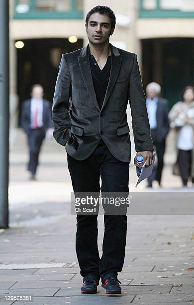 Salman Butt the former Pakistan cricket captain arrives at Southwark Crown Court on October 18 2011 in London England Former captain Salman Butt and...