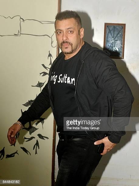 Salman Khan at Daisy Shah's Debut Play 'Begum Jaan' at Rangsharda Mumbai