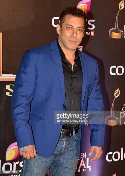 Salman Khan at the Colors Golden Petal Awards in Mumbai