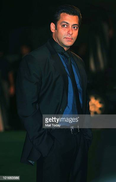 Salman Khan at the IIFA Awards in Colombo on June 5 2010