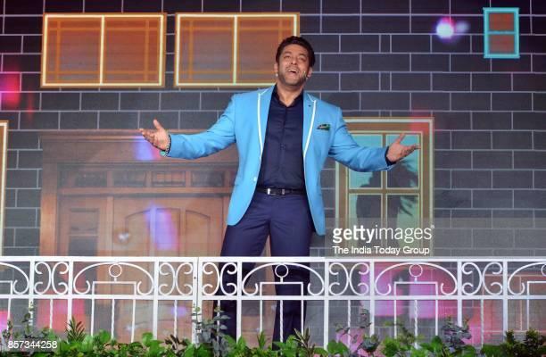Salman Khan at the launch of Bigg Boss Season 11 in Mumbai