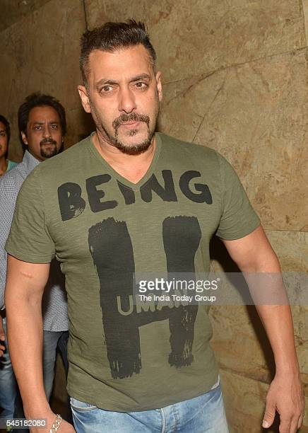 Salman Khan at the screening of 'Sultan' at LightBox in Mumbai