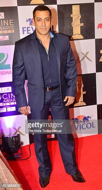 Salman Khan at Zee Cine Awards 2016 in Mumbai