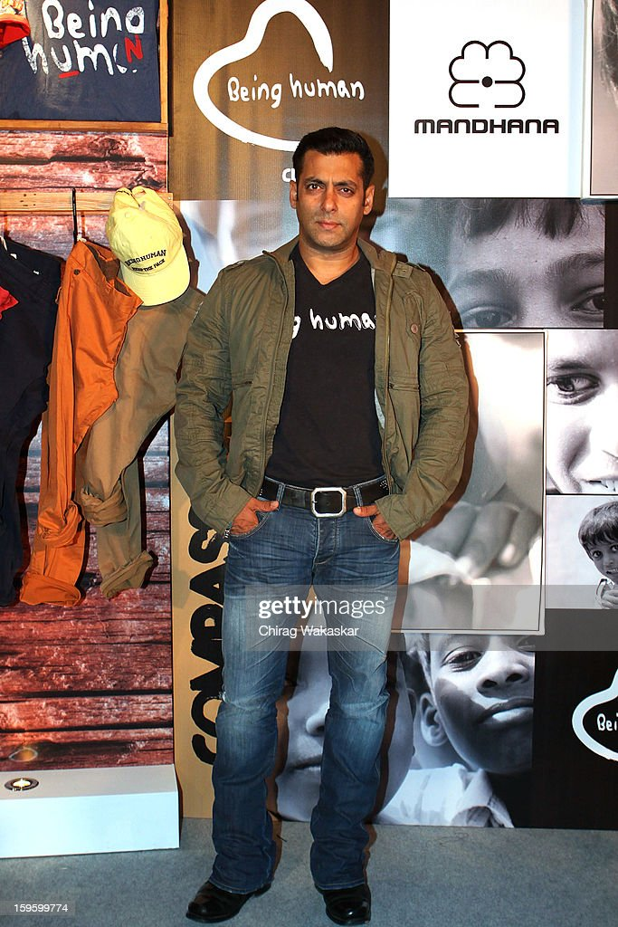 Salman Khan Launches The Being Human Flagship Store In Mumbai : ニュース写真