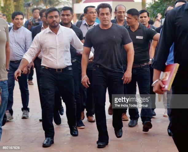 Salman Khan during the launch of Bina Kaks book Silent Sentinels of Ranthambhore at Taj Lands End in Mumbai
