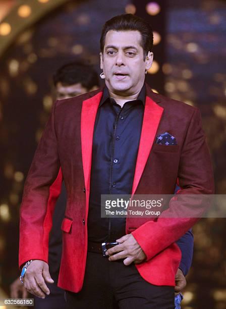 Salman Khan on the sets of Bigg Boss season 10 during the promotion of film Raees in Lonavala Maharashtra