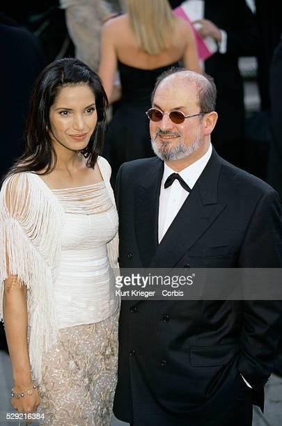 Salman Rushdie and Girlfriend Padma Lakshmi