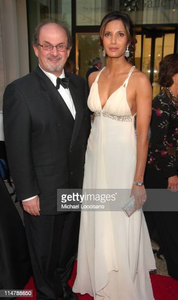 Salman Rushdie and Padma Lakshmi during 'Madama Butterfly' Opening Night Starting the Lincoln Center Metropolitan Opera 20062007 Season at Lincoln...