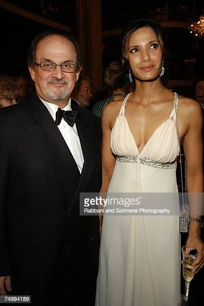 Salman Rushdie and Padma Lakshmi Rushdie