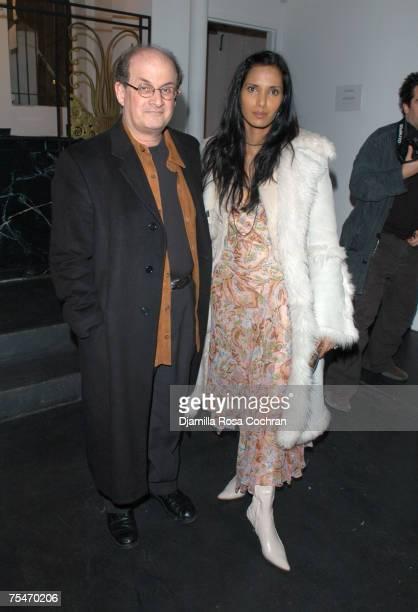 Salman Rushdie and Padma LakshmiRushdie