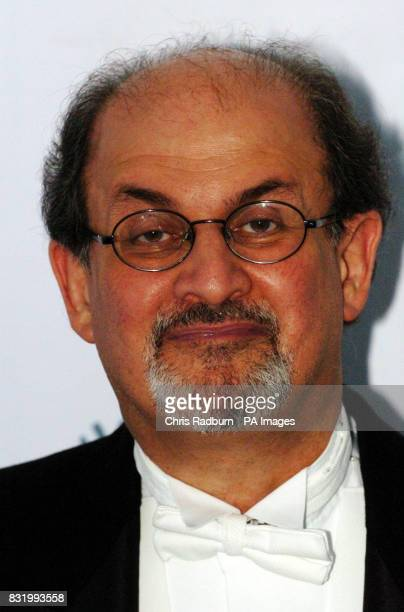 Salman Rushdie arrives at the Raisa Gorbachev Foundation Russian Ball at Althorp House Northamptonshire PRESS ASSOCIATION Photo Picture date Saturday...