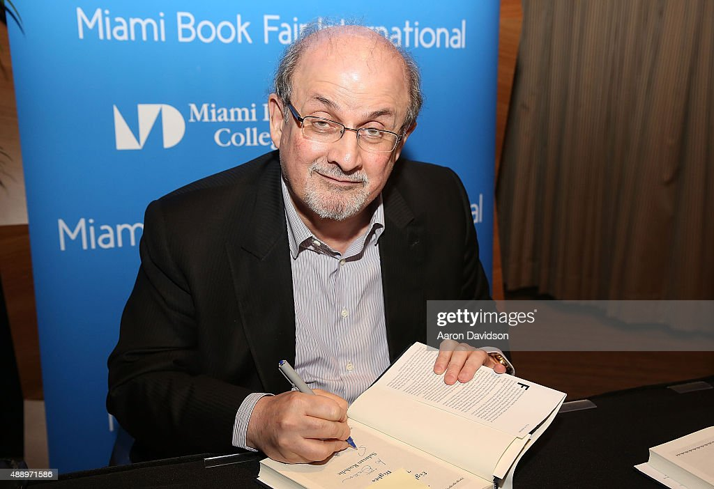 Salman Rushdie Book Discussion And Signing