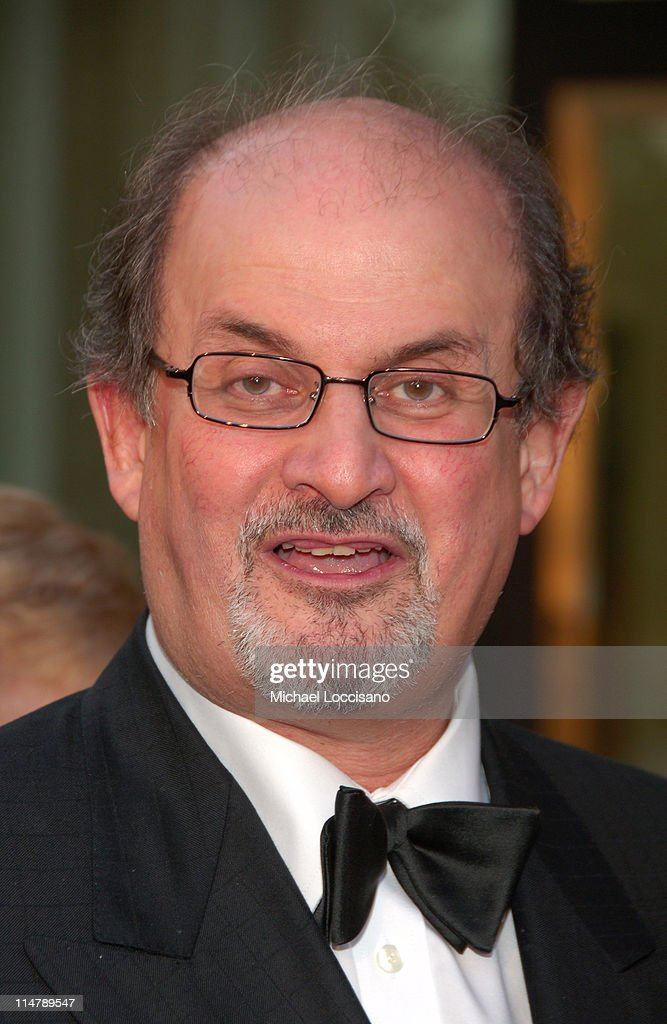 Salman Rushdie during 'Madama Butterfly' Opening Night Starting the Lincoln Center Metropolitan Opera 2006-2007 Season at Lincoln Center in New York, New York, United States.