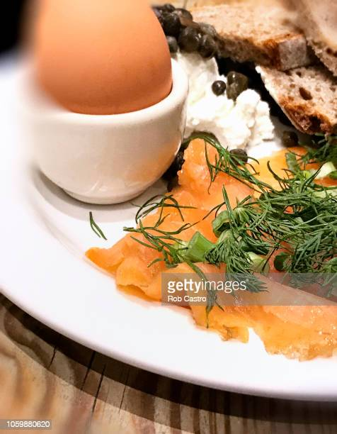 Salmon and Egg Breakfast