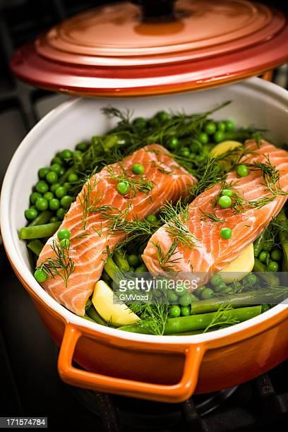 Gratin de saumon