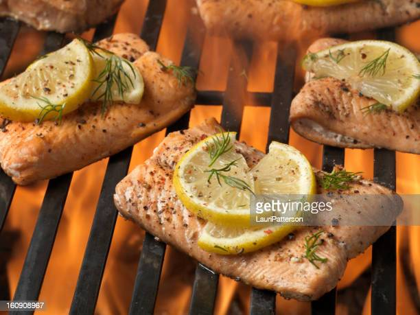 Grill-Lachs-Filets