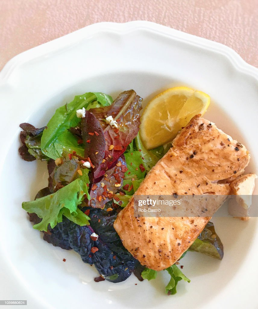 Salmon Salad : Stock Photo