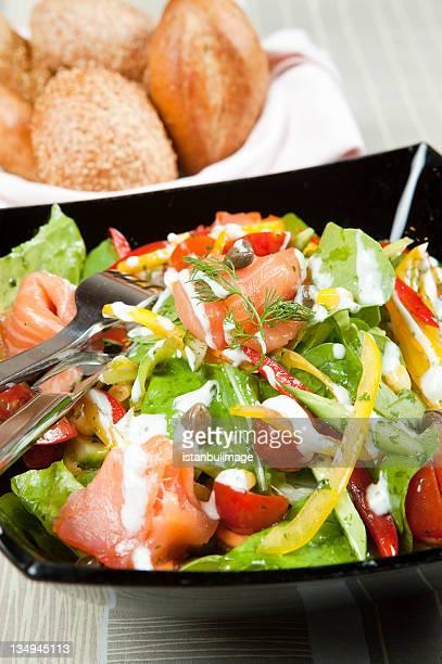 Salmón salade