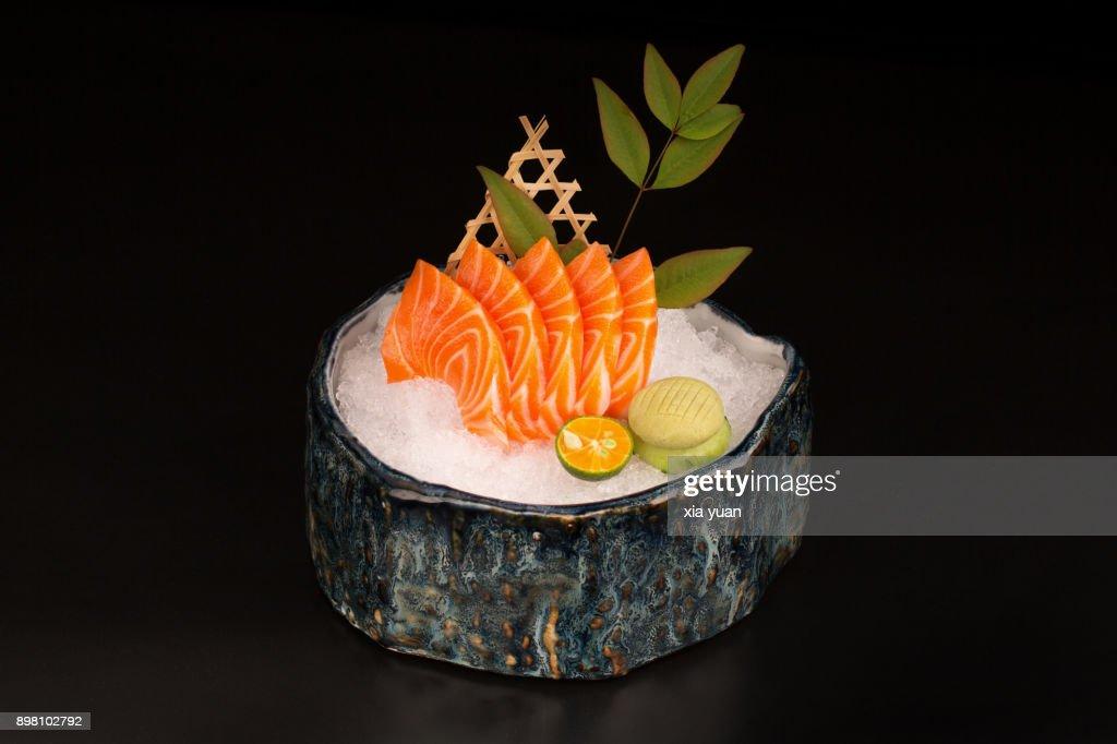 Salmon Sashimi : Foto de stock