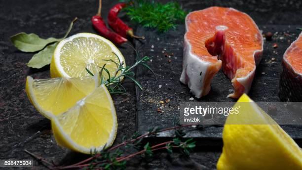 Bistecs de salmón