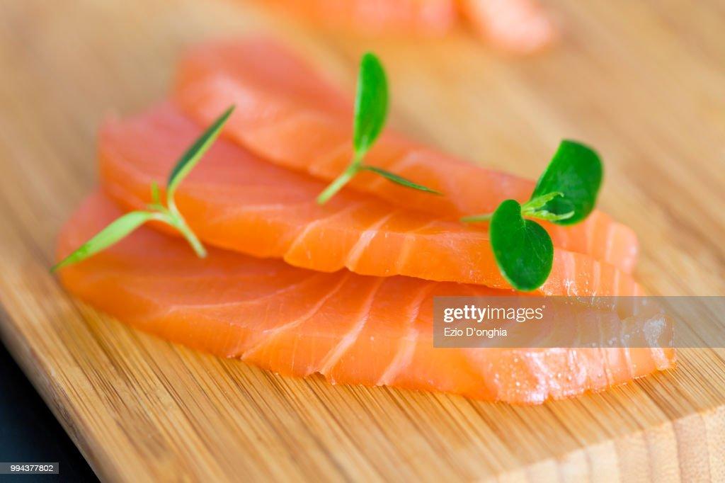Salmone : Foto de stock