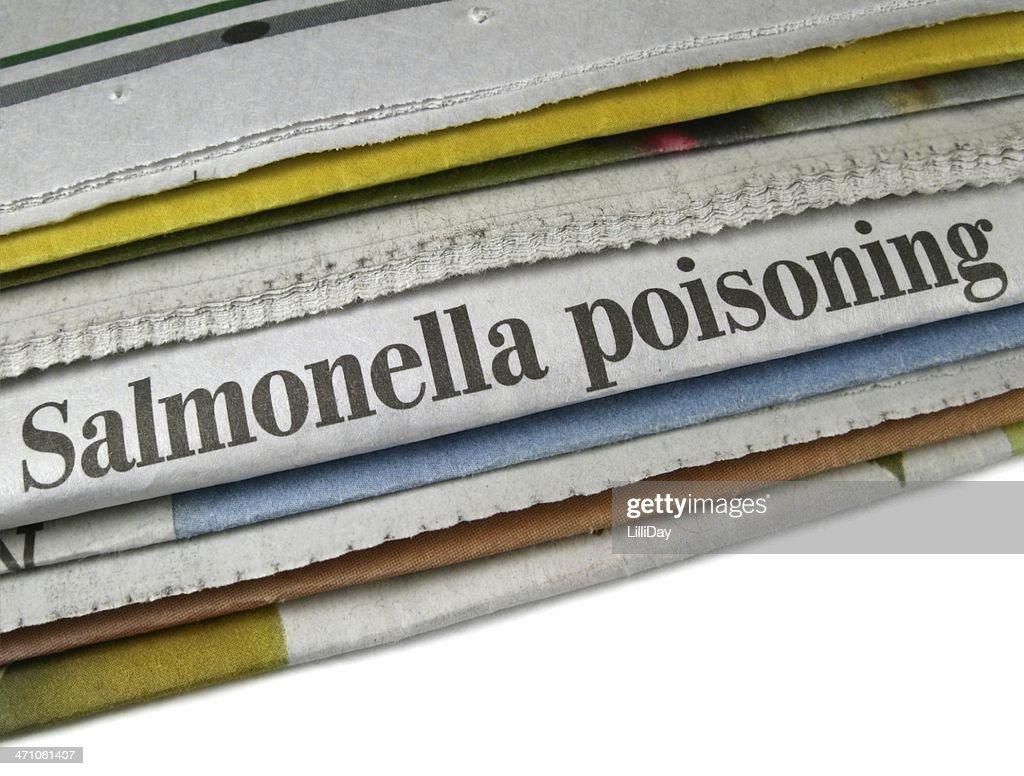 Salmonella Poisoning : Stock Photo