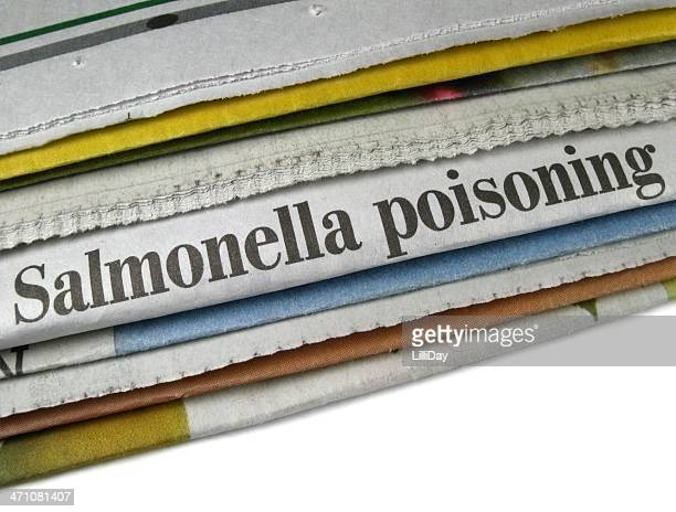 salmonella poisoning - salmonella bacterium stock photos and pictures