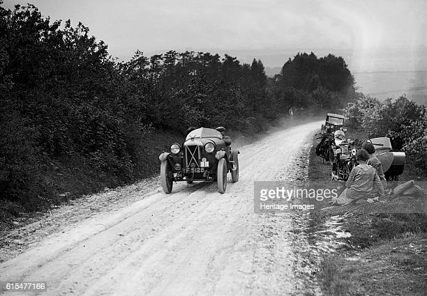 Salmson of J Higgs taking part in the North West London Motor Club Trial 1 June 1929 Salmson 1087 cc Vehicle Reg No YF5128 Event Entry No 1 Driver...