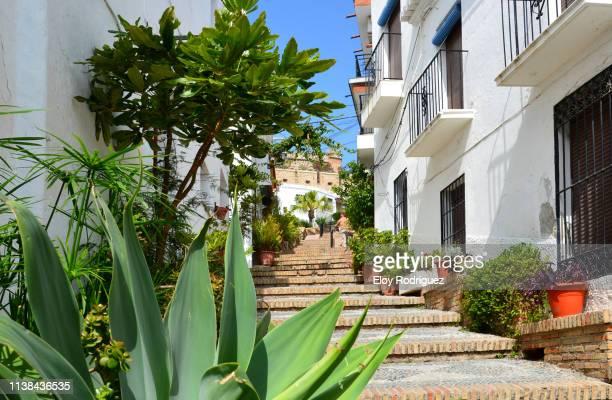 salobreña - costa tropical - granada spain stock pictures, royalty-free photos & images