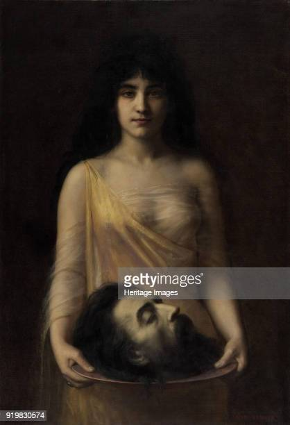 Salome, ca 1899. Found in the collection of Musée des Beaux-Arts, Nantes.