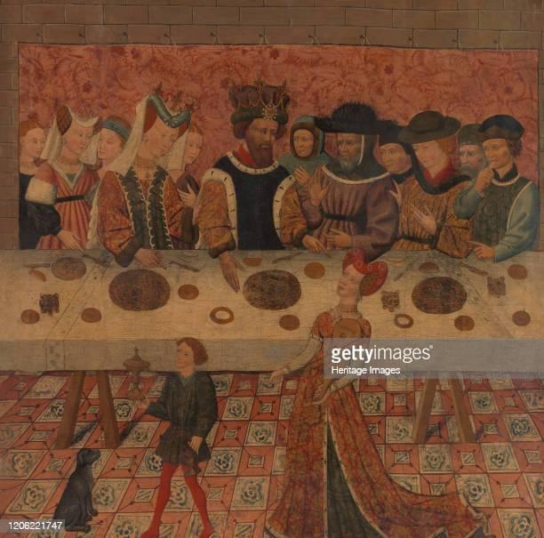 Salome Dancing before Herod. Artist Spanish Painter .