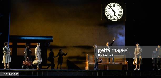 Salome Jicia as Fiordiligi Gyula Orendt as Guglielmo Paolo Fanale as Ferrando Thomas Allen as Don Alfonso and Serena Malfi as Dorabella with artists...
