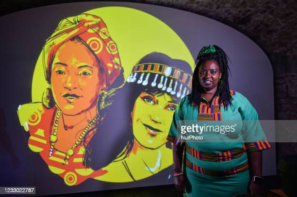 Salome Mbugua, Kenyan activist and human rights defender, founder of AkiDwA, seen inside EPIC The Irish Emigration Museum in Dublin on Wednesday, May...