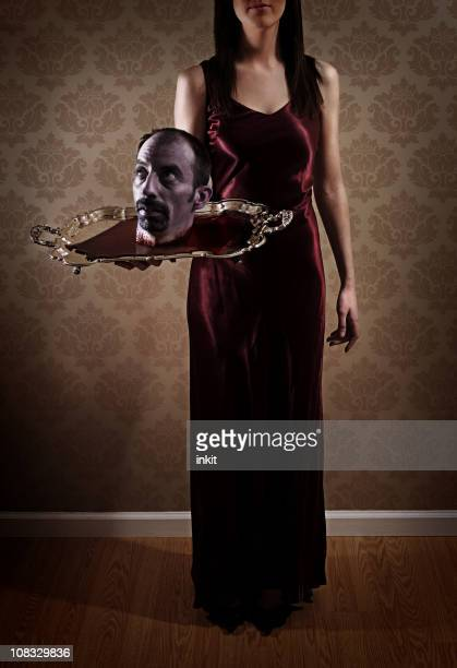 salome - john the baptist stock photos and pictures