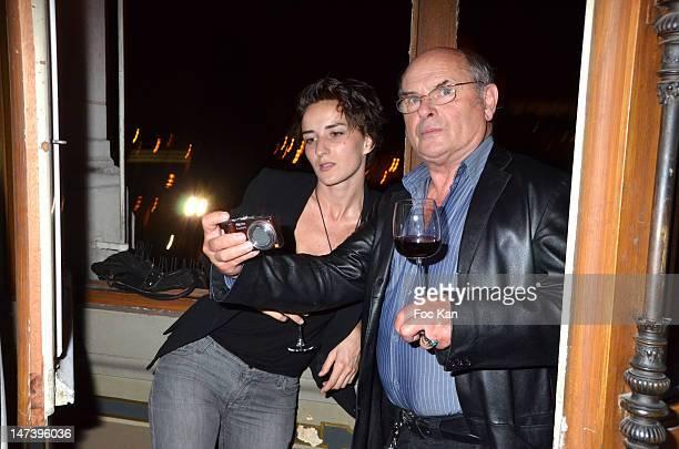 Salome Stevenin and Jean Francois Stevenin attend the Paris Cinema 10th Anniversary Cocktail at the Hotel de Ville on June 28 2012 in Paris France