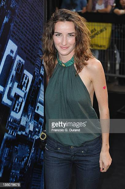 Salome Stevenin arrives to attend the Paris Premiere for the film 'Inception' at Gaumont Champs Elysees on July 10 2010 in Paris France