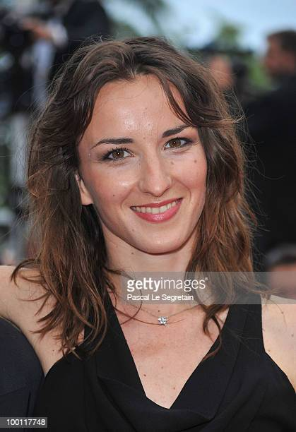 Salome Stevenin attend the 'Outside Of The Law' Premiere at the Palais des Festivals during the 63rd Annual Cannes Film Festival on May 21 2010 in...