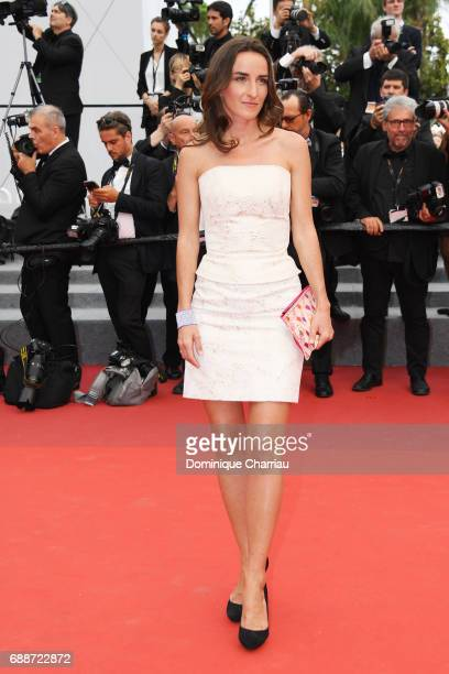 Salome Stevenin attends Amant Double Red Carpet Arrivals during the 70th annual Cannes Film Festival at Palais des Festivals on May 26 2017 in Cannes...