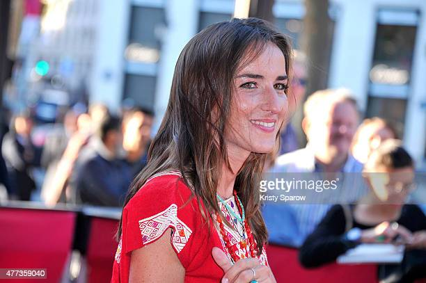 Salome Stevenin attends the 4th Champs Elysees Film Festival Closing Ceremony at Publicis Cinema on June 16 2015 in Paris France