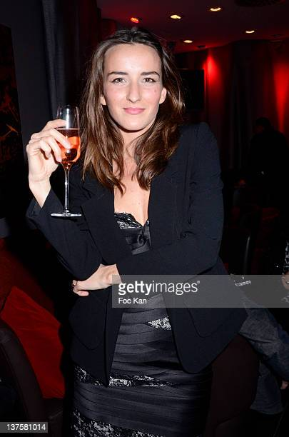 Salome Stevenin attends the Christophe Guillarme Luggage Line Launch Cocktail at Hotel Renaissance on January 22 2012 in Paris France