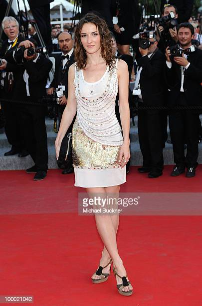 Salome Stevenin attends the 'Fair Game' Premiere held at the Palais des Festivals during the 63rd Annual International Cannes Film Festival on May 20...