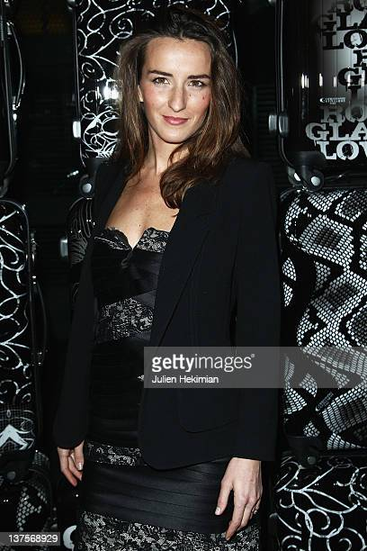 Salome Stevenin attends the launch of Christophe Guillarme's luggage line at Hotel Renaissance on January 22 2012 in Paris France