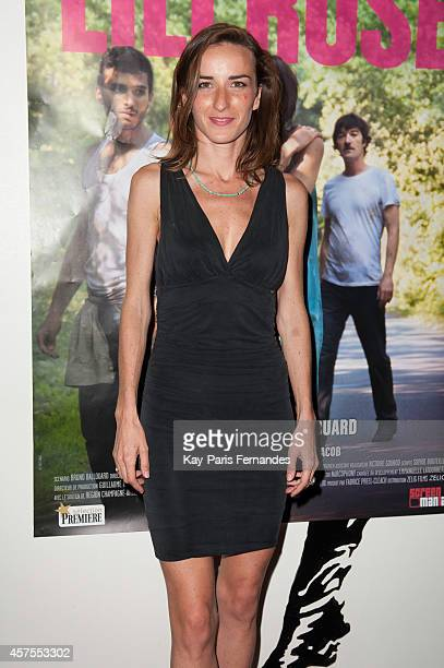 Salome Stevenin attends the 'Lili Rose' Paris Premiere At Cinema Grand Action In Parison October 20 2014 in Paris France