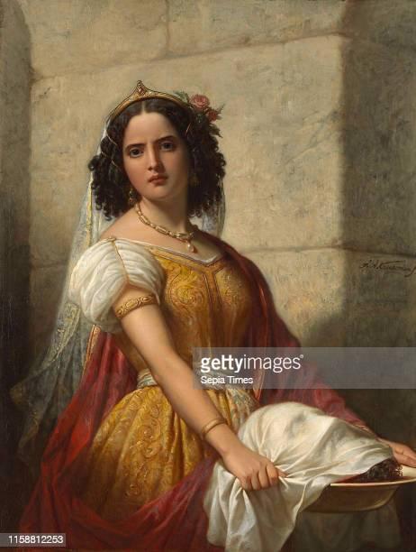 Salome with the Head of John the Baptist, Jan Adam Kruseman, c. 1861