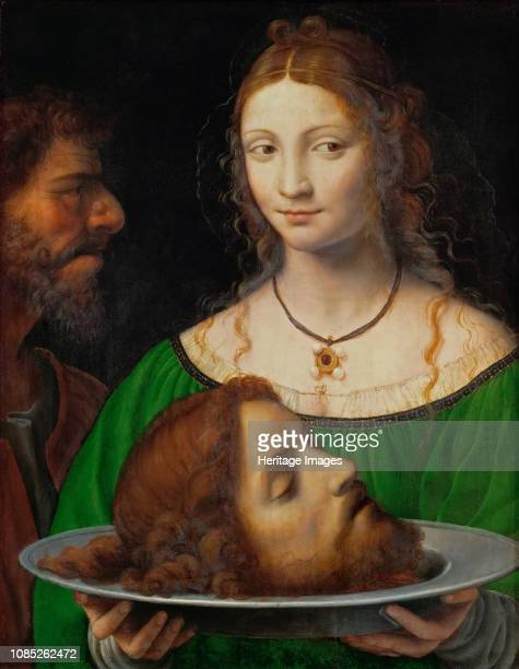 Salome with the Head of Saint John the Baptist, ca 1525-1528. Found in the Collection of Art History Museum, Vienne.