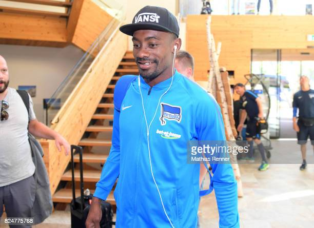 Salomon Kalou of Hertha BSC during a training camp on July 31 2017 in Schladming Austria