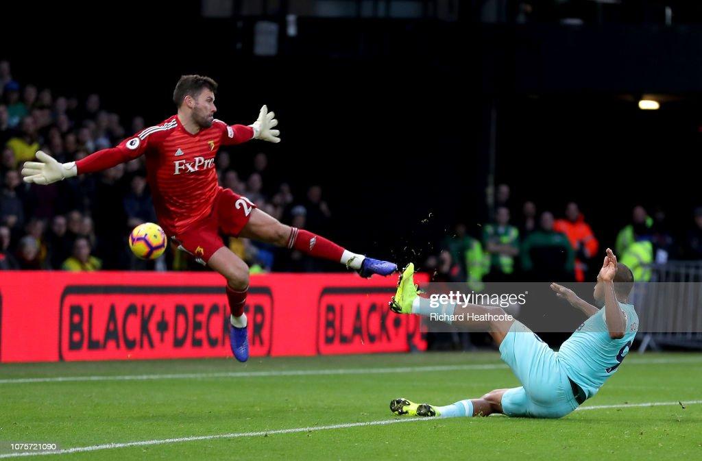 Watford FC v Newcastle United - Premier League : News Photo