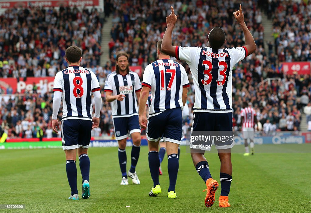 Stoke City v West Bromwich Albion - Premier League : Photo d'actualité