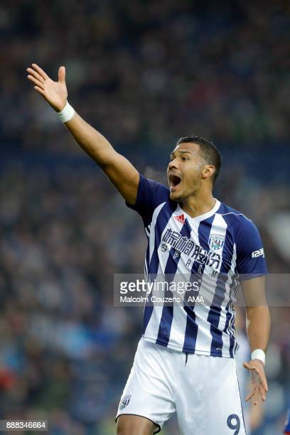 Salomon Rondon of West Bromwich Albionduring the Premier League match between West Bromwich Albion and Crystal Palace at The Hawthorns on December 2...
